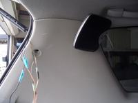 トヨタ イプサムにサテライトスピーカー取付