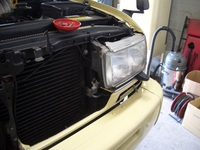 ランクル80 エアコン修理