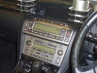 レクサスSC430 社外ナビ・バックカメラの取付です