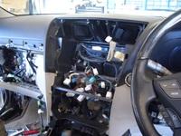 レクサスLS460 エアサスコントローラー取付