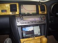 レクサスSC430に、サイバーナビの取付です