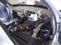 BMW X3 エアコン修理です